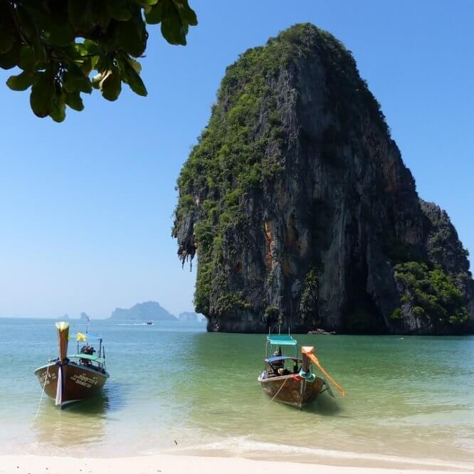 Deux îles à privilégier durant un séjour à la carte en Thaïlande